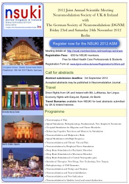 Flyer for Joint 2012 meeting